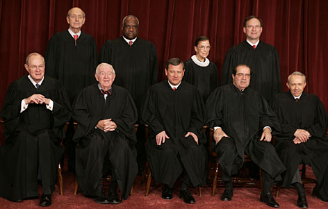 the Chief Justice and the 8 Associate Justices of the Supreme Court?